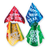 New Years Hats & Headwear Printed Happy New Year Cone Hat Image