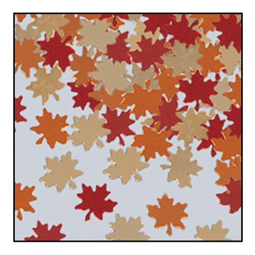 Thanksgiving Decorations Autumn Leaves Confetti Image