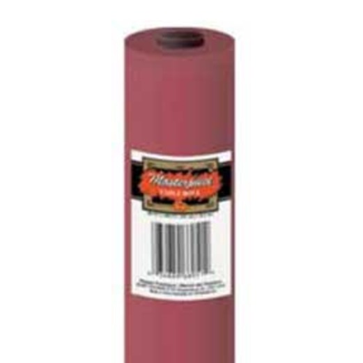 Table Accessories 250' Table Roll Burgundy Image