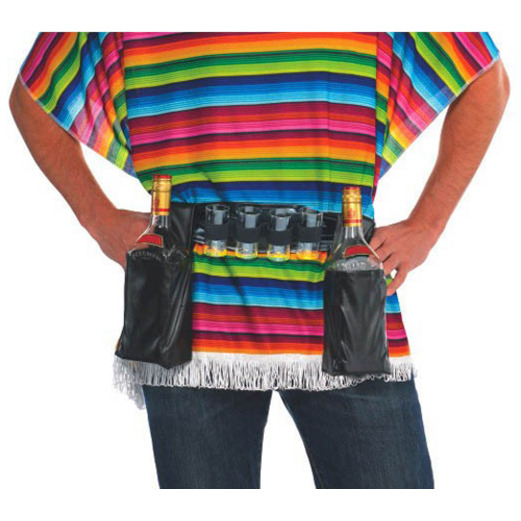 Cinco de Mayo Party Wear Booze Belt Image
