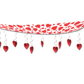 Valentine's Day Decorations Hearts Ceiling Decor Image