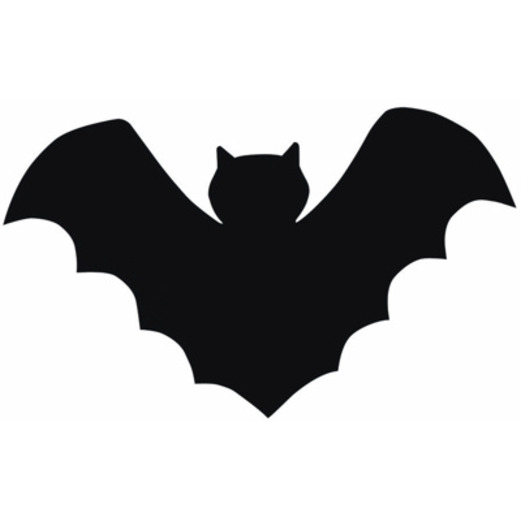 halloween decorations mini bat cutouts image