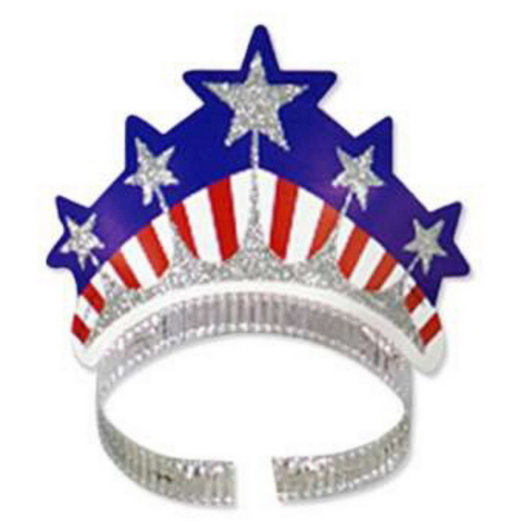 4th of July Hats & Headwear Miss Liberty Tiara Image