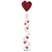 Valentine's Day Decorations Jumbo Heart Whirl Image