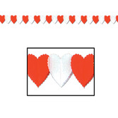 Valentine's Day Decorations Petite Heart Garland Image