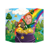 St. Patrick's Day Decorations Leprechaun Photo Prop Image