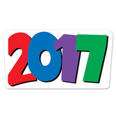 New Years Decorations 2017 Cutout Image