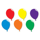 Birthday Party Decorations Balloon Cutout Image