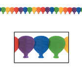 Birthday Party Decorations Balloon Garland Image