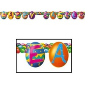 Easter Decorations Easter Egg Streamer Image