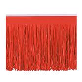 Valentine's Day Decorations Red Fringe Drape Image