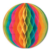 "Birthday Party Decorations 12"" Multicolor Tissue Ball Image"