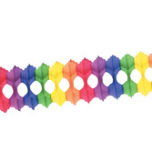 Cinco de Mayo Decorations Rainbow Arcade Garland Image