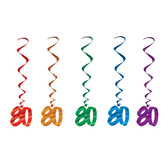 Birthday Party Decorations 80 Whirls Image