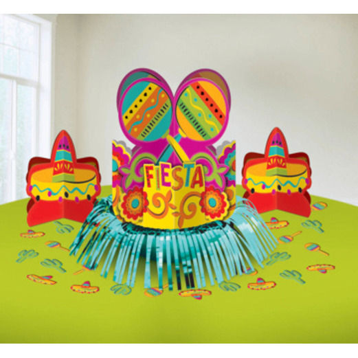 Cinco de Mayo Decorations Fiesta Table Decorating Kit Image