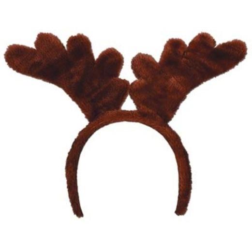 Christmas Hats & Headwear Plush Reindeer Antlers Image