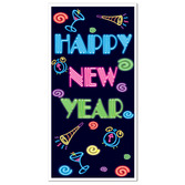 New Years Decorations Happy New Year Door Cover Image