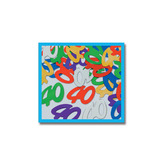 "Birthday Party Decorations ""40"" Confetti Multicolor Image"