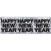 New Years Decorations Silver New Year Banner Image
