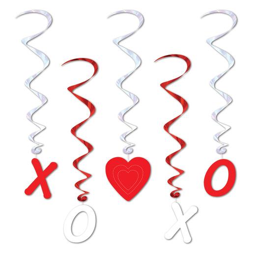 Valentine's Day Decorations Valentine Whirls Image