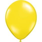 "Spring & Summer Balloons 16"" Yellow Balloons Image"