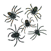 Halloween Favors & Prizes Stretchy Spiders Dz Image