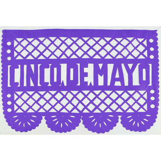 Cinco de Mayo Decorations Cinco de Mayo Papel Picado Image