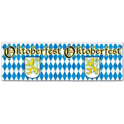 Oktoberfest Decorations Metallic Oktoberfest Banner Image