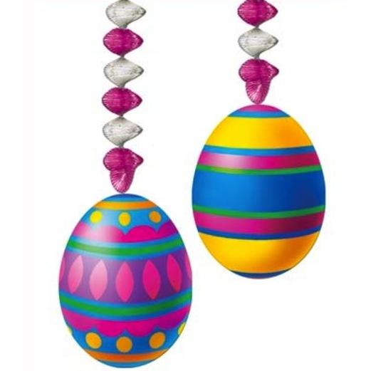 Easter Decorations Easter Egg Danglers Image