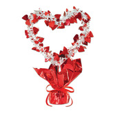 Valentine's Day Decorations Heart Gleam n' Shape Centerpiece Image