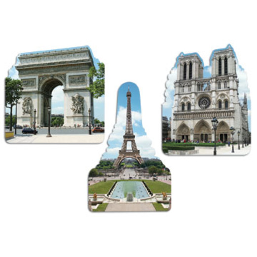 International Decorations French Cutouts Image