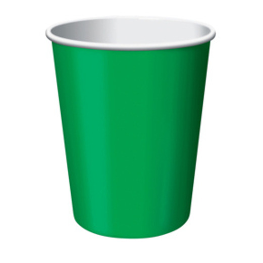St. Patrick's Day Table Accessories Green Cups Image