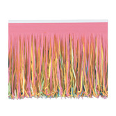 Cinco de Mayo Decorations Multicolor Fringe Drape Image
