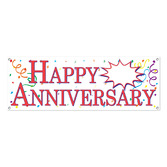 Anniversary Decorations Happy Anniversary Banner Image