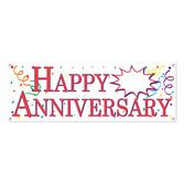 Anniversary Decorations Happy Anniversary Banner Image