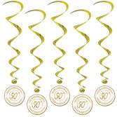 Anniversary Decorations 50th Anniversary Whirls Image