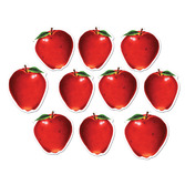 Back to School Decorations Mini Apple Cutouts Image