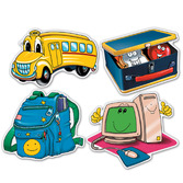Back to School Decorations School Days Cutouts Image