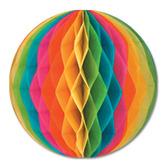"""Cinco de Mayo Decorations 19"""" Multicolor Tissue Ball Image"""