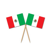 Cinco de Mayo Decorations Mexican Flag Picks Image