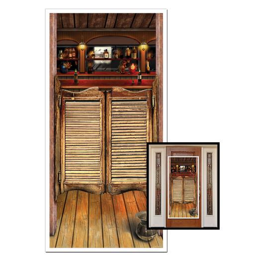 Western Decorations Saloon Door Cover Image