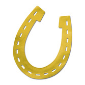 Western Decorations Foil Horseshoe Cutout Image