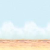 Western Decorations Desert Sky & Sand Backdrop Image