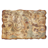 Western Decorations Gold Mine Treasure Map Image