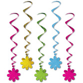 Easter Decorations Flower Whirls Image