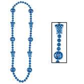 Sports Party Wear Basketball Beads Blue Image