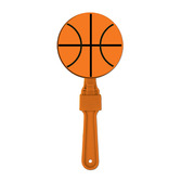Sports Favors & Prizes Basketball Clapper Image