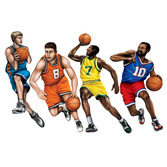 Sports Decorations Basketball Cutouts Image