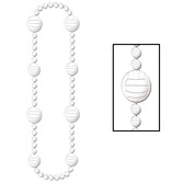 Sports Party Wear Volleyball Bead Necklace Image