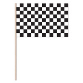 Sports Decorations Plastic Checkered Flags 11x17 Image